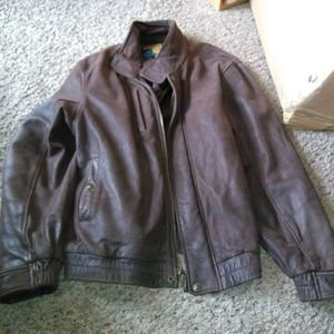 Wilsons Leather Jackets & Coats - Wilson Adventure bound leather jacket & a gift